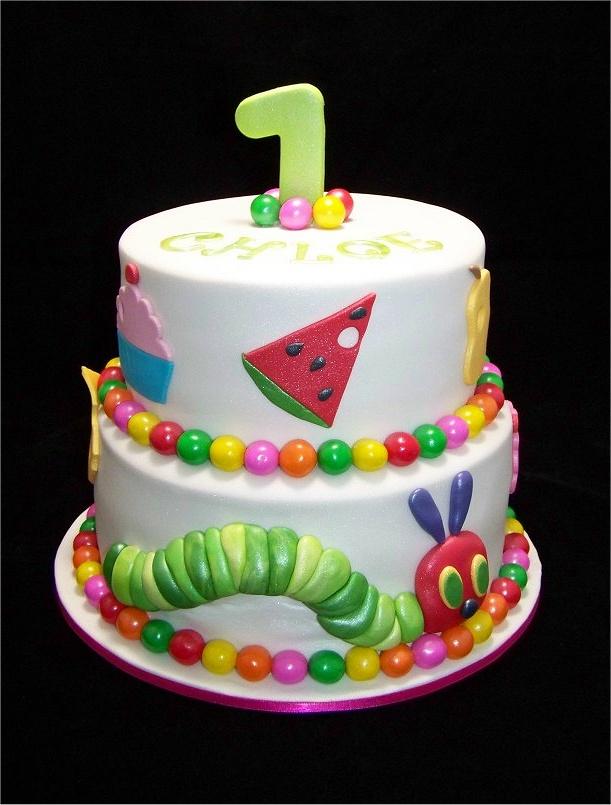 Caterpillar Birthday Cake Pictures