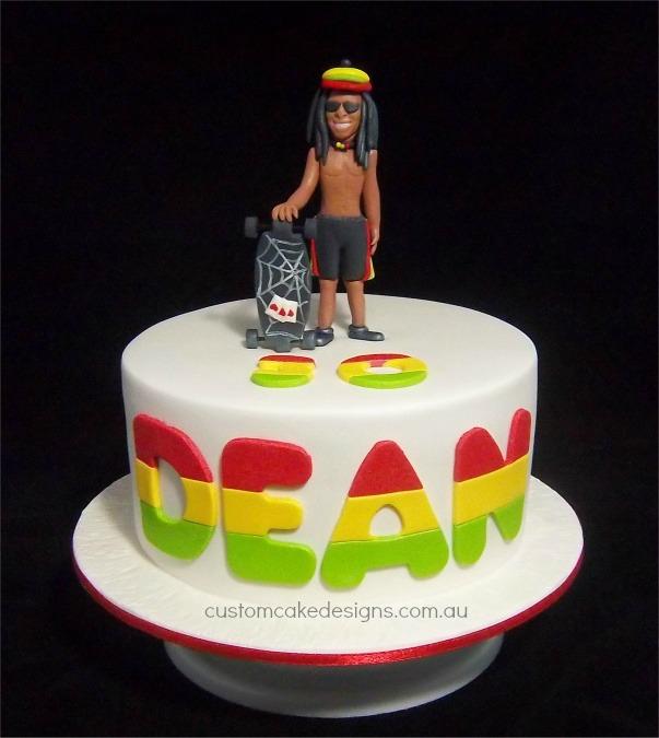 Bob Marley Cake Ideas