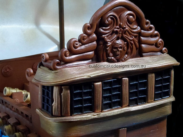 Pirate Wedding Wedding Cake · Pirate Ship