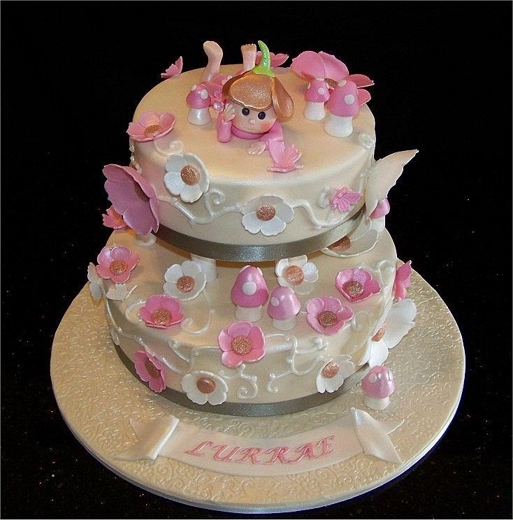 Baby B Day Cake