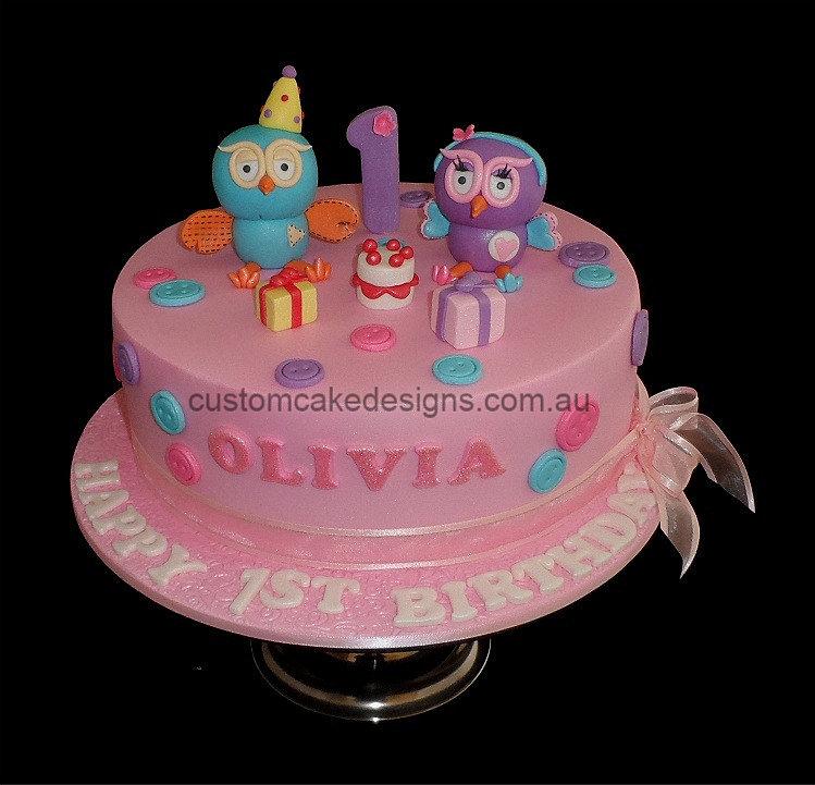 Hoot Hootabelle Cake