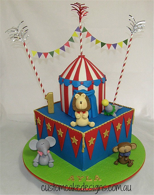 Circus Theme Cake Ideas