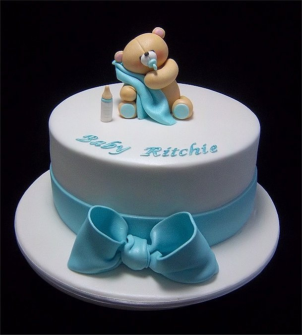Forever Friends Baby Shower Cake