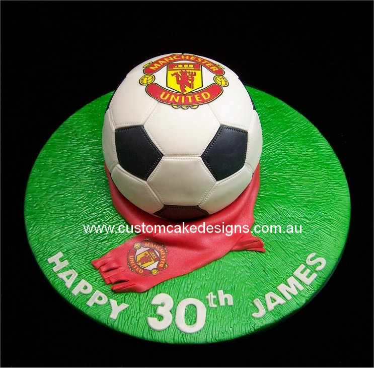 Manchester United Cake Ideas