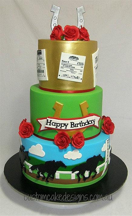 Horse Topper Cake