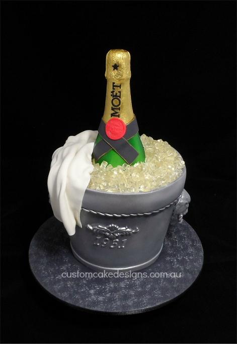 Champagne Cake Tin