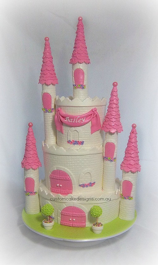 Custom Cake Designs Cake Decorator Perth Princess Castle ...