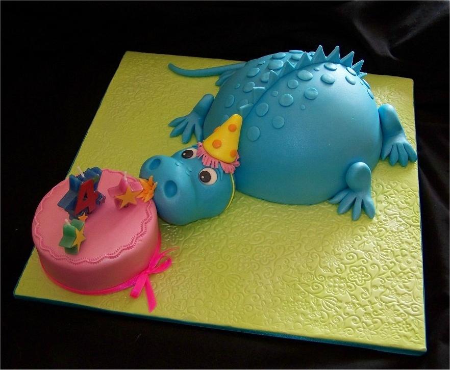 Dinosaur Zoom Cake