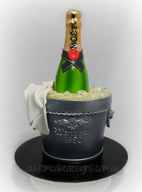 Bottle Bucket Cake