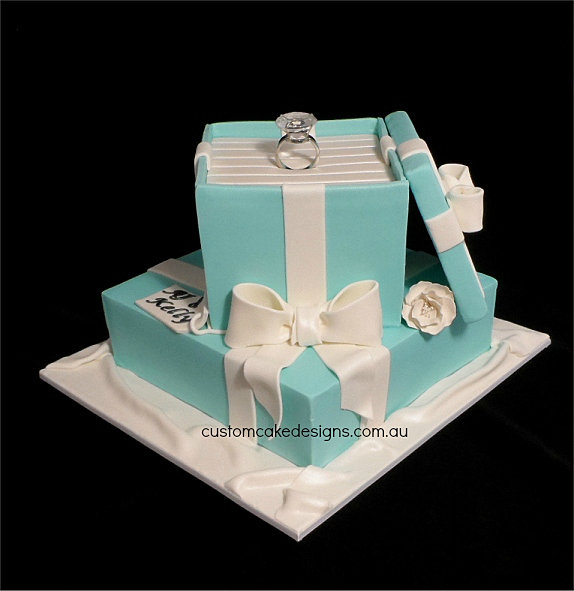 Custom Cake Designs Cake Decorator Perth Engagement ...
