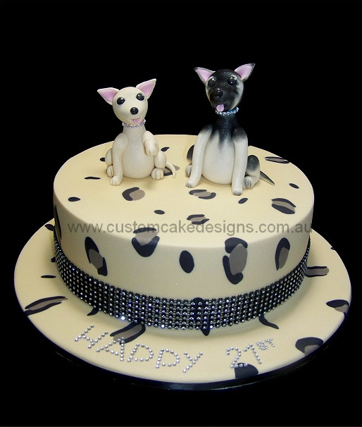 Chihuahua Birthday Cake Images