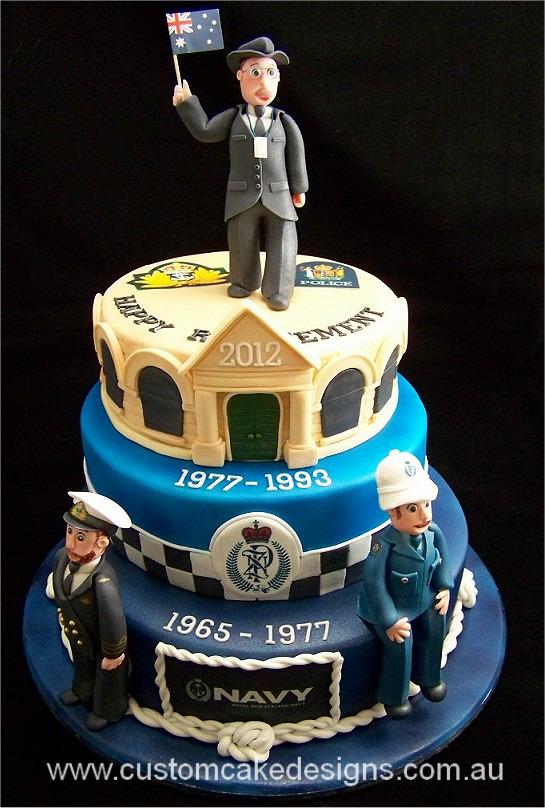 Police Officer Cake Images