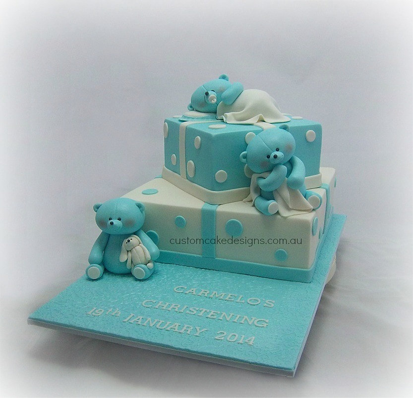 Goldilocks Cake Design For Christening : Custom Cake Designs Cake Decorator Perth 3 Bears ...