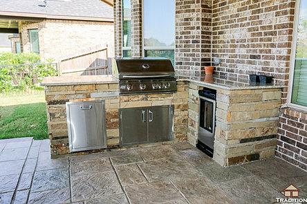 Custom outdoor kitchen builder katy houston tx for Outdoor kitchen designs houston texas