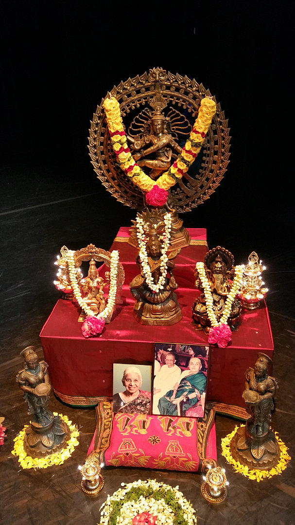 Praapthi decorations for Arangetram stage decoration ideas