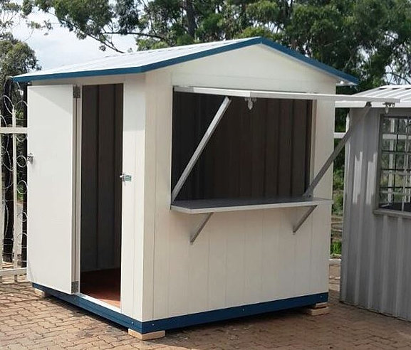Tilley sheds security guard huts garden sheds for Garden shed security