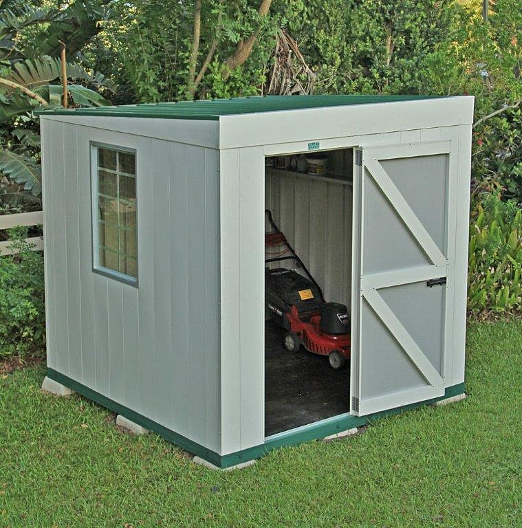 Tilley sheds security guard huts garden sheds 2 4m x for Garden shed security