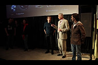Q&A after screening