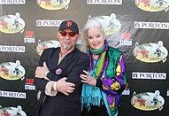 Billy DaMota and Sally Kirkland