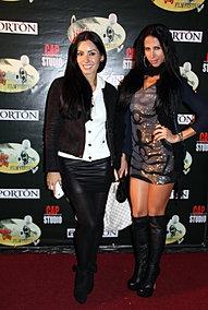 Karina Mora and Luci Alves