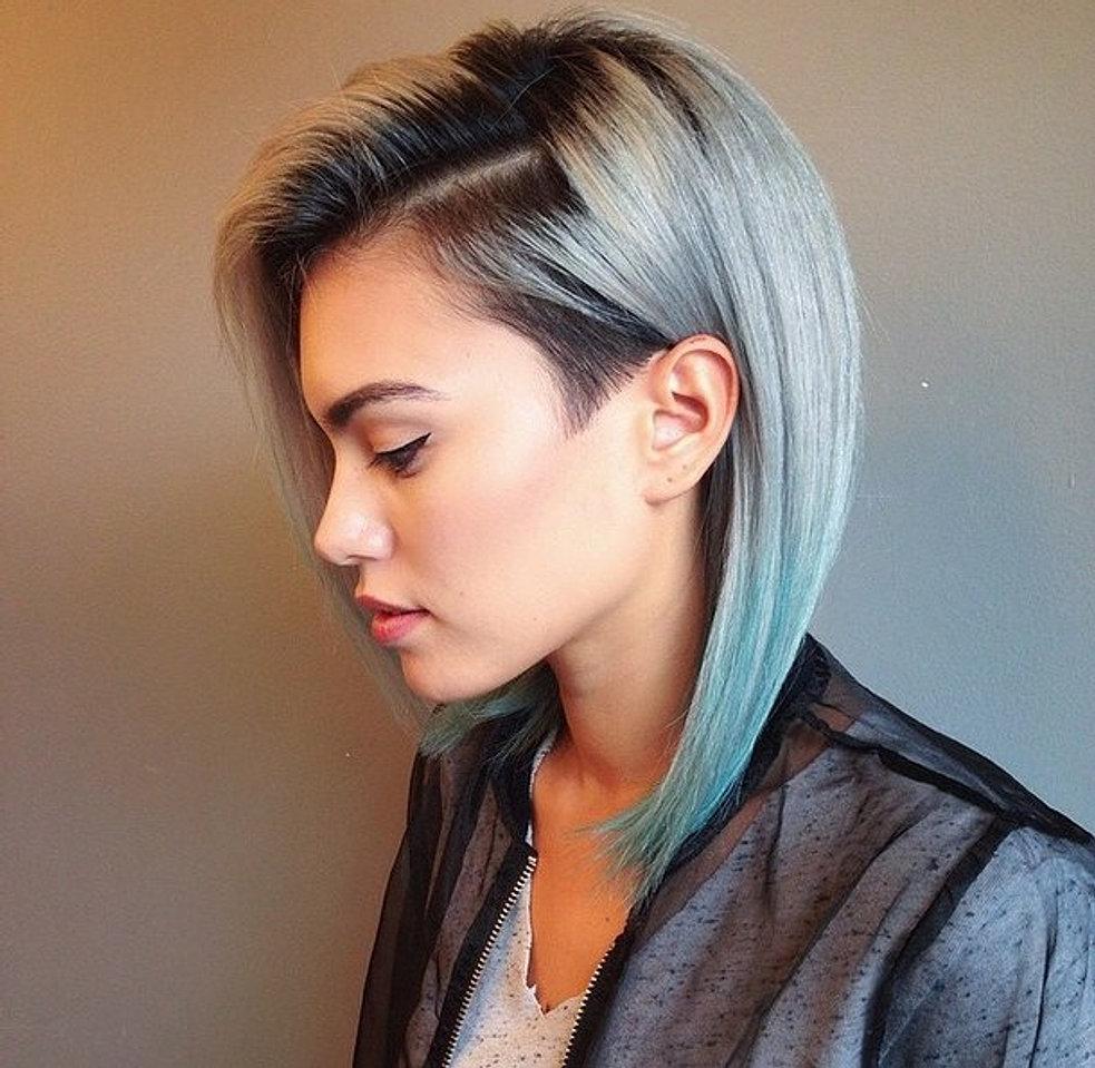 Дерзкие стрижки на средние волосы