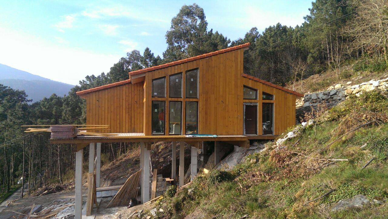 Construir Casas De Madera. Affordable Casas De Madera En With ...