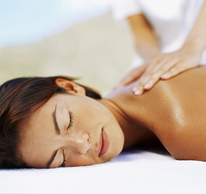 relaxing touch massage therapy