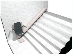 Elevadores plataformas plataformas y sillas for Sillas para escaleras minusvalidos