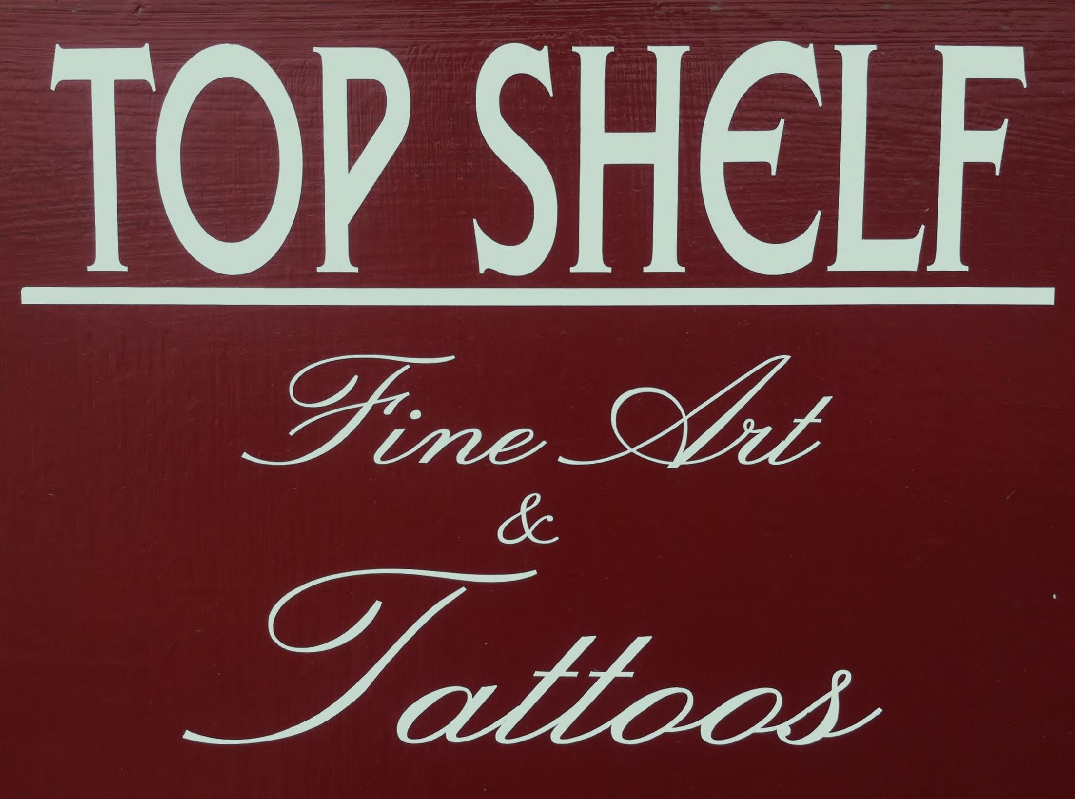 Top shelf fine art ink art tattoo fawn baker for Top shelf tattoos