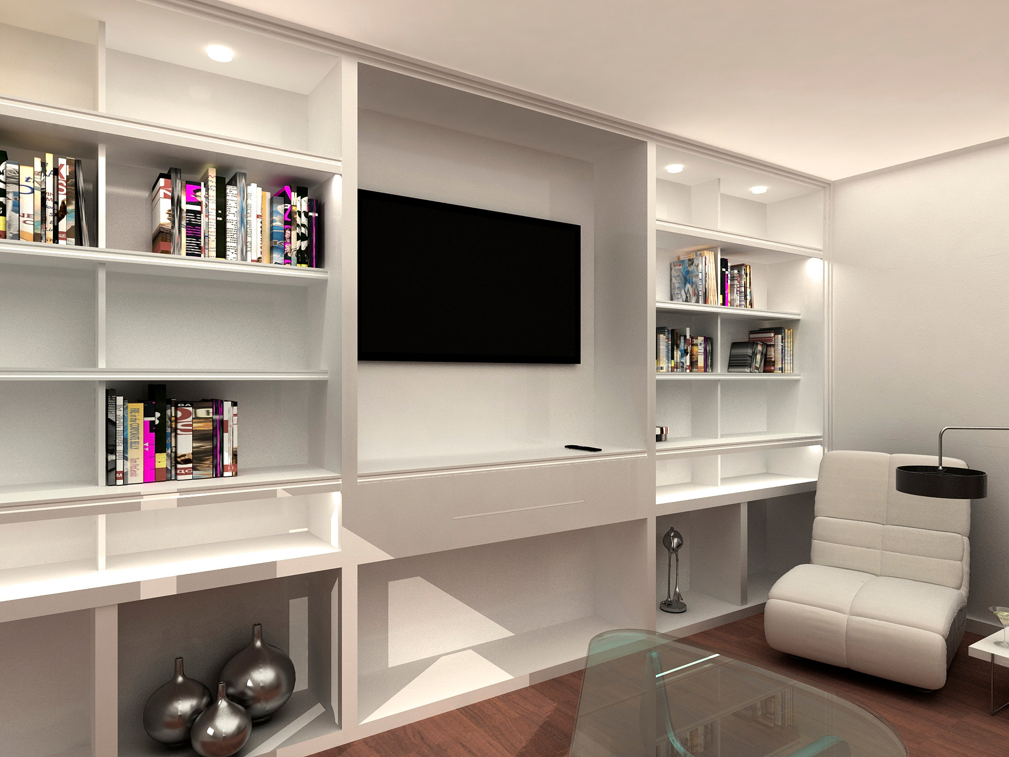 Sans arquitectes arquitectos tarragona dise o mueble - Muebles de salita de estar ...