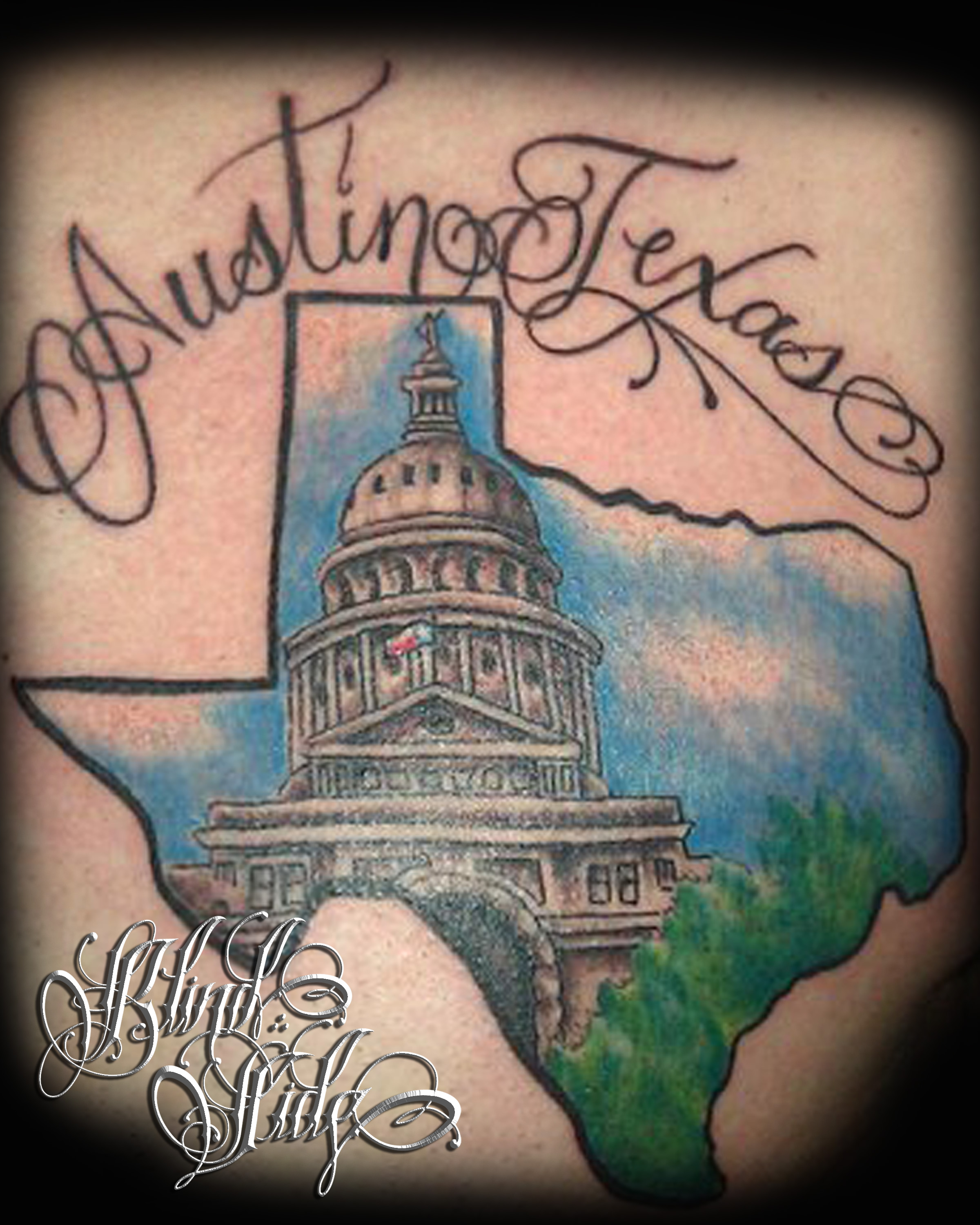 Top tx tattoos images for pinterest tattoos for Austin texas tattoo