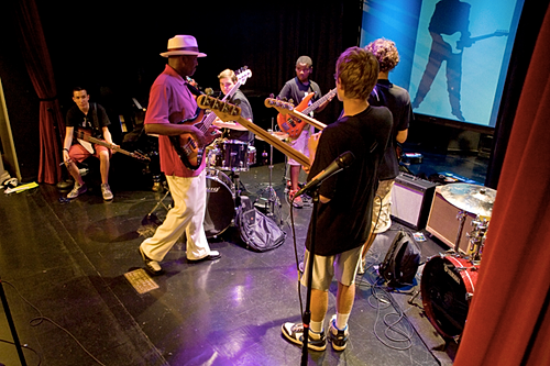 Blues Camp session w/Fernando Jones