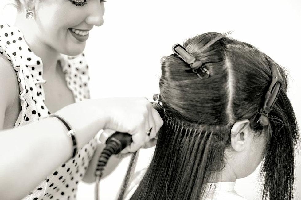 Micro bead hair extensions san francisco