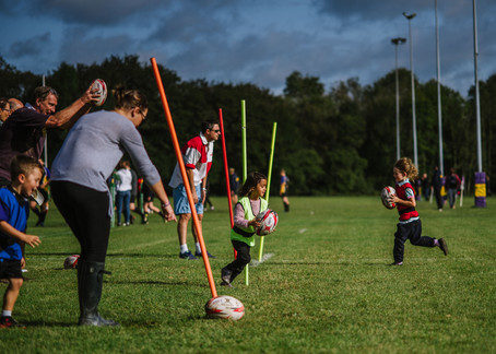 Uckfield Rugby Club  -  U6新手