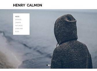 Portfólio de Fotografia Template - Um template minimalista perfeito para mostrar sua fotografia para o mundo. Faça upload de fotos e adicione texto para personalizar seu trabalho online. Adicione seu conteúdo e publique seu portfólio online hoje mesmo!