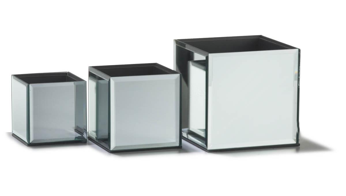 Mirror vase craftbnb reflect vase set of 4 bloomdarling buy diy wedding flowers reviewsmspy
