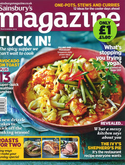 Sainsbury's Magazine - cover - September 2015.JPG