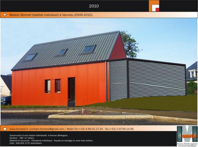 Hometal bureau d etude maison structure metallique les - Bureau d etude construction metallique ...