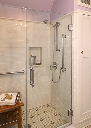 Leslie Dohr Interior Design S Bathroom Remodel