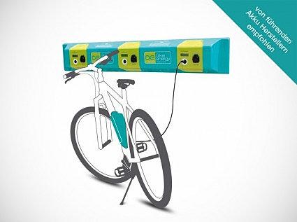 cycletic bornes de recharge pour v los lectriques. Black Bedroom Furniture Sets. Home Design Ideas
