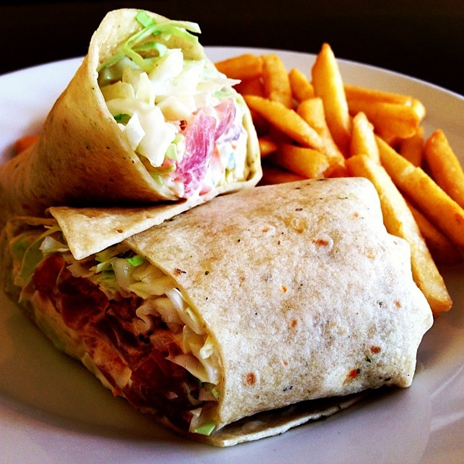 Spicy Ahi Wrap