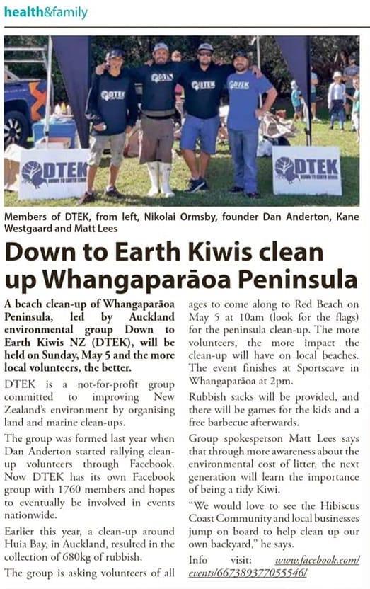 DTEK media Whangaparaoa