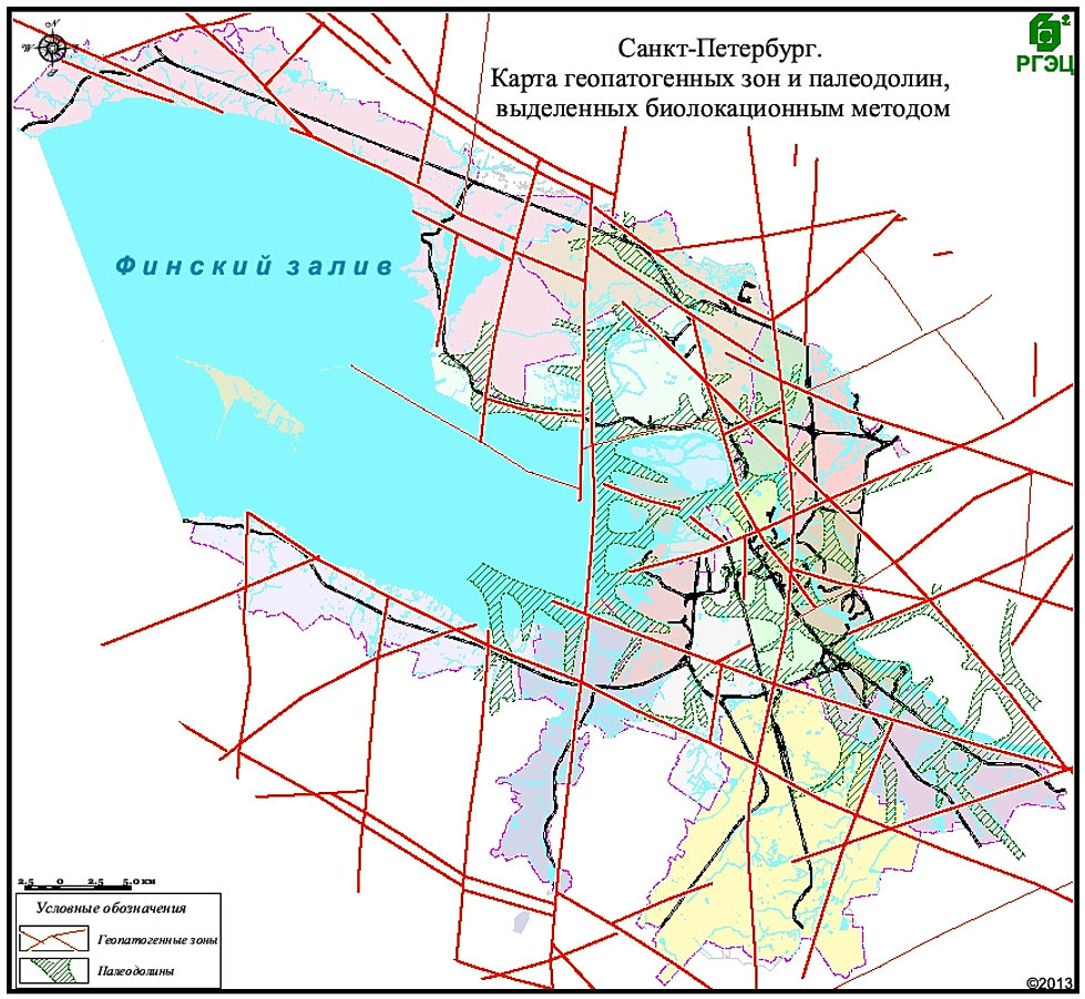 Схема тектонических разломов петербург