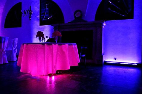 Dekoracja światłem Zamek Krasiczyn