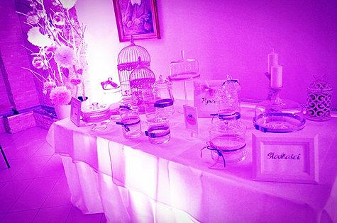 Dekoracja światłem Candy Bar