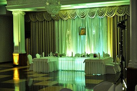 Dekoracja światłem Hotel Łańcut