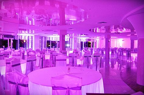 Dekoracja światłem na wesele Łapanów