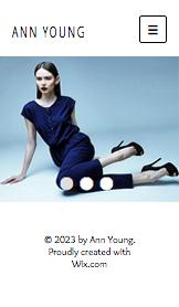 Minimalist Moda Tasarımcısı Portfolyosu