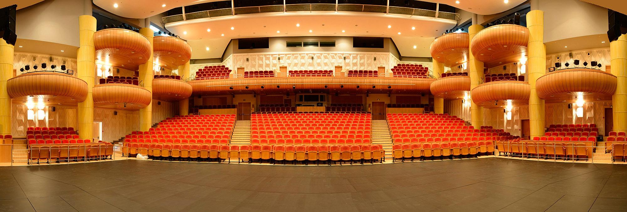 схема зала русская песня театр