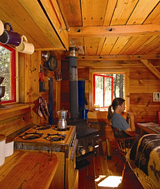 In first Potomac cabin
